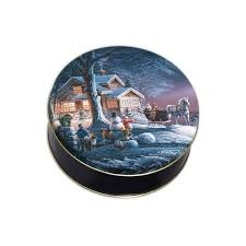 christmas tins wholesale christmas cookie tins wholesale winter pattern