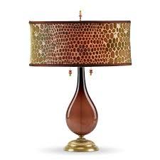hazel table lamp 143aj127 kinzig design colors brown and green