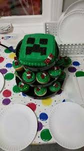 an awesome virtual reality pic creeper minecraft cake perfect