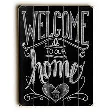 shop wood welcome signs for homes on wanelo
