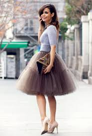how to make a tulle skirt different ways to style tulle skirts 2018 fashiontasty