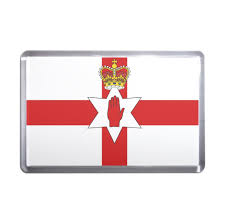 Plastic Flags Northern Ireland Flag Plastic Fridge Magnet Decoration Fun