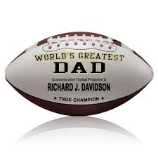 engraved football gifts day gifts personalized footballs