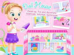 Dolls House Decorating Games Doll House Cleanup U0026 Decoration Game Created With Tutotoons