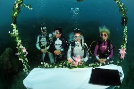 underwater wedding underwater wedding vitalmag