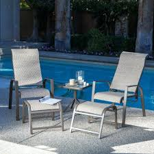 reclining patio chair with ottoman the patio patio chairs with ottomans kabujouhou home furniture about