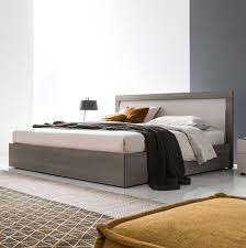 platform bed with led lights stunning platform bed with built in nightstands also lacquer trends