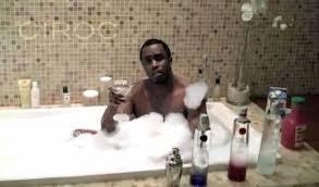 Rapper Diddy Bathtub Ciroc 2 Zz Illuminati Symbolisms
