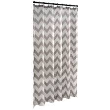 shop allen roth polyester grey geometric shower curtain at lowes com