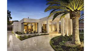 Contemporary Style Homes by Imposing Luxurious Modern Mansion In Melbourne Wearing