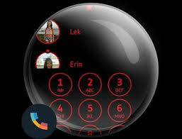 download black red phone dialer theme for pc windows and mac apk