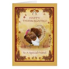 happy thanksgiving to my best friend card zazzle