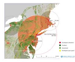 Washington New York Map by Developing A Food Security Plan For The New York City Bioregion