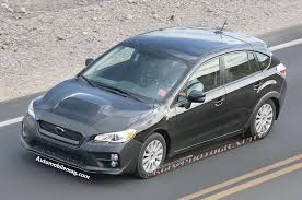 subaru wrx hatch hold the phone subaru wrx hatchback spied