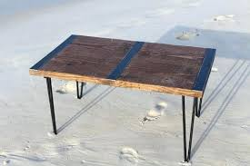 industrial tables for sale wood tables wood table with blue resin abundantlifestyle club