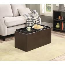 convenience concepts sheridan storage bench w 2 side ottomans