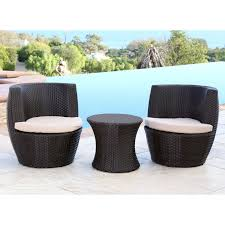 best selling home decor furniture wicker 3 piece patio