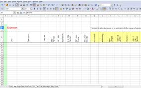 Business Expense Template For Taxes by Simple Gst Spreadsheet Australia Business Activity Statements