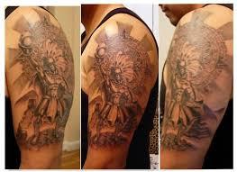 looking shining sleeve aztec taino sun