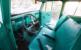 willys jeep truck green 1962 willys interior willys wagon pinterest jeeps jeep