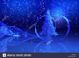 Blue Christmas Decorations Background by Blue Christmas Collage Decorations And Ribbons On A Blue