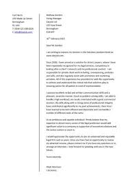 sample of cover letter for employment application 8571