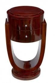 Art Deco Waterfall Nightstand Art Deco Nightstands Foter