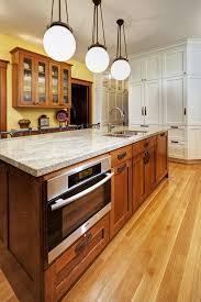 eat at island in kitchen light oak kitchen kitchen craftsman with island lighting island