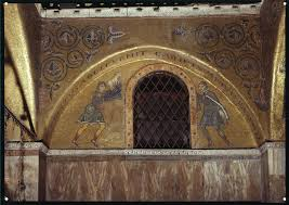south wall lunette sacrifice of cain and abel dumbarton oaks
