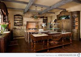Fabulous French Country Kitchen Designs Home Design Lover - French country kitchen cabinets photos