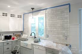 how to install backsplash tile in kitchen how to tile a backsplash part 1 tile setting pretty handy
