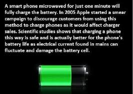 Charge Your Phone Do People Really Try To Charge Cell Phones In Microwaves
