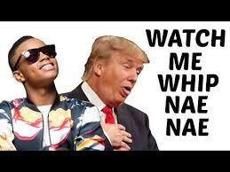 Nae Nae Meme - donald trump sings watch me whip nae nae by silentó lyrics