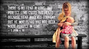 daily bible verse 1 john 4 18 daily encouragement