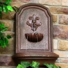 outdoor solar on demand wall mounted water fountain water
