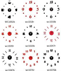 horloge cuisine moderne pendule cuisine moderne horloge murale quartz de cuisine