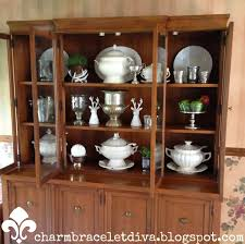 our hopeful home china cabinet styling reveal