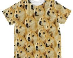 Doge Meme T Shirt - doge meme all over adult t shirt