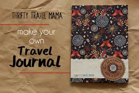 travel journals images Make it yourself travel journal thrifty travel mama jpg