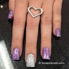 best 25 purple glitter nails ideas on pinterest purple wedding