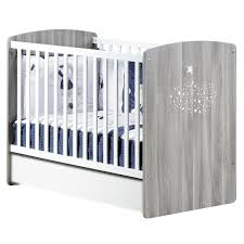 aubert chambre bébé hugo lit bébé 60x120cm gris de sauthon baby s home lits