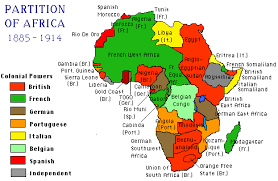 africa map before colonization scramble for africa how the continent became divided