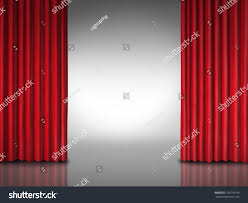 Movie Drapes Entertainment Background Movie Performances Glossy Theater Stock