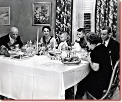 thanksgiving day 1952 tv s reality show