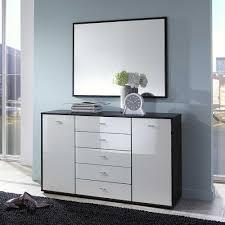 Schlafzimmer Schwarz Weiss Bilder Schlafzimmer Sideboard Point In Schwarz Weiß Mit Glas