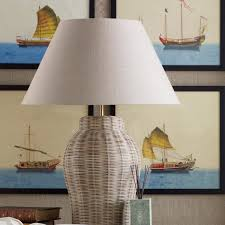 Small Table Lamp India Small Rattan Table Lamp Oka