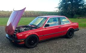 bmw e30 stanced e30 coilovers