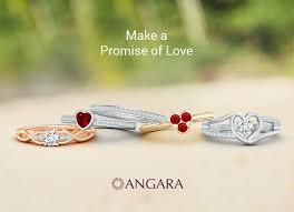 promise ring vs engagement ring engagement rings vs promise rings angara