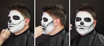 Halloween Skull Makeup Tutorial Male Sugar Skull Makeup Tutorial Wholesale Halloween Costumes Blog