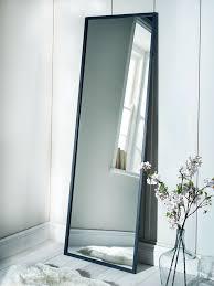 full length mirror with light bulbs mirrors amusing wood full length mirror white floor cheap design